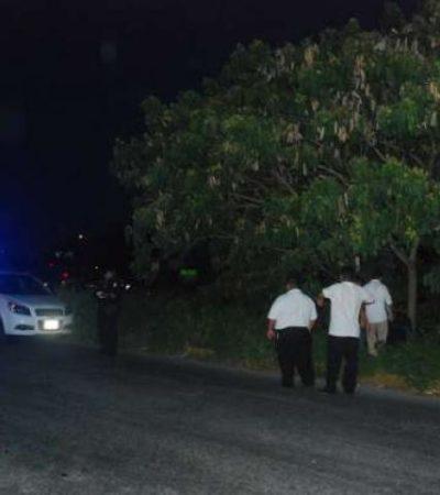 Hallan cadáver de indigente en descomposición en plena avenida Chac Mool de Cancún
