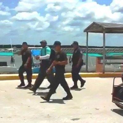TOPÓGRAFO 'NON GRATO' EN HOLBOX: Expulsan pobladores de la isla a trabajador de la empresa Península Maya Developments