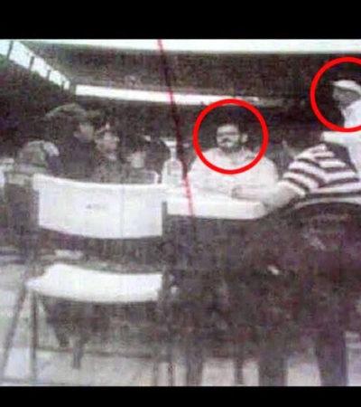 """""""COMO GRANDES AMIGOS…"""": Circula foto de hijo del Gobernador Vallejo con 'La Tuta'"""