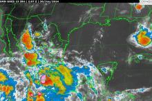 Nace la tormenta tropical 'Douglas' en el Pacífico y pronostican fuertes lluvias en el Occidente