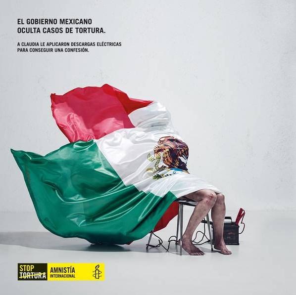 """""""EL FUTURO DEL ROCK & ROLL ES JUSTIN BIEBER"""": """"Tortura a un hombre y te dirá lo que sea"""", campaña de Amnistía Internacional con México en la mira"""