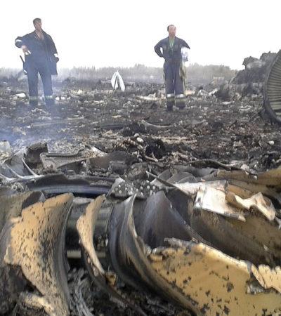Confirma inteligencia de EU que un misil derribó el avión malasio cuando atravesaba Ucrania