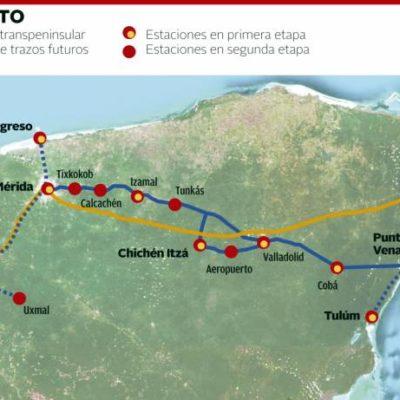 Divide a empresarios de Cancún y la Riviera Maya el cambio de ruta del Tren Transpeninsular