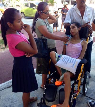 CHETUMALEÑOS AYUDAN A SANDY: Recaudan $70 mil de los $100 mil que se requieren para operación de la menor que sufrió derrame cerebral
