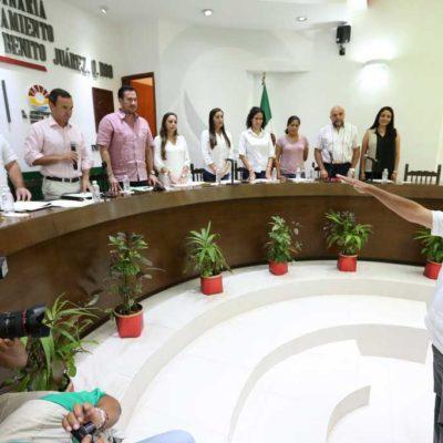 Oficializan renuncia de noveno regidor en Cancún y su relevo asume el cargo en definitiva