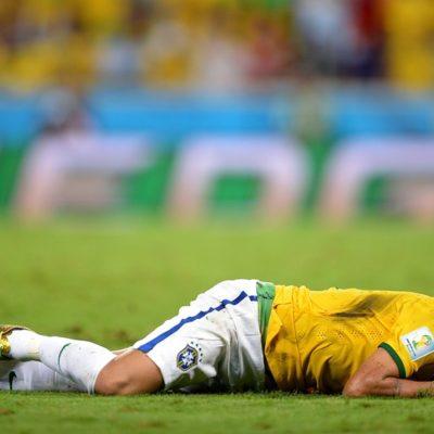 DOLOROSA VICTORIA DE BRASIL: Los verdeamarelas eliminan 2-1 a Colombia, pero Neymar sale lesionado y se perderá el Mundial
