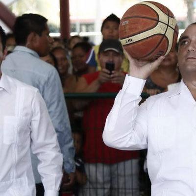 DOS DÍAS DE 'PLACEO' PARA 'CHANITO': Intensa gira del Gobernador por todo QR… para 'airear' al 'delfín' José Luis Toledo Medina