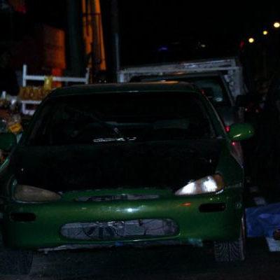 EJECUTAN A PESCADOR A QUEMARROPA: De 4 balazos, matan a un hombre afuera de un bar en la Región 67 de Cancún