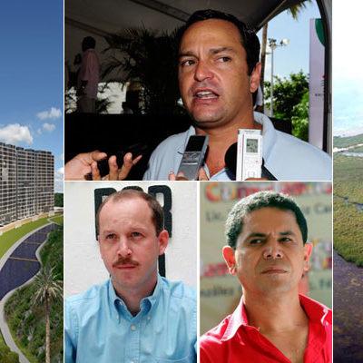 TRIÁNGULO 'DORADO' EN PUNTA NIZUC: El Edil Paul Carrillo y los ex Alcaldes Greg Sánchez y Carlos Canabal, en negocio inmobiliario de 34 mdd en Cancún