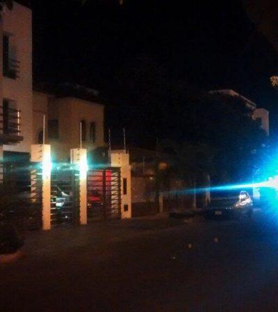 BALEAN VIVIENDA EN CANCÚN: En la madrugada, desconocidos disparan contra domicilio en la SM 16