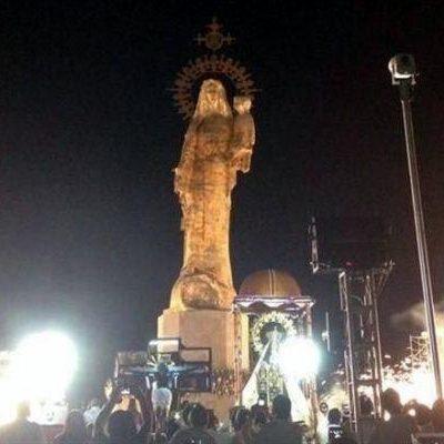 ¿BUSCABAN UN MILAGRITO?: Develan en Ciudad del Carmen monumento 'Stella Maris', financiado por Oceanografía