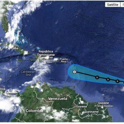 Se forma depresión tropical en el Atlántico y avanza hacia el Caribe