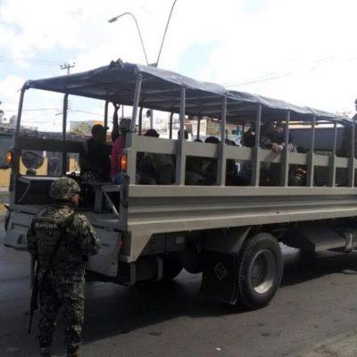 FRACASA GESTIÓN DE BORGE EN HOLBOX: No logran liberación antes de 48 horas de los 15 detenidos por presunto daño ambiental y quedan a disposición de un juez federal