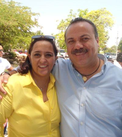 Regresa Haydé Saldaña al PRD