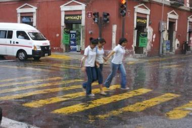 Reportan caída de granizo en el norte de Mérida