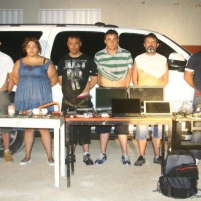 Consignan a integrantes de banda de atracadores de viviendas de Playacar