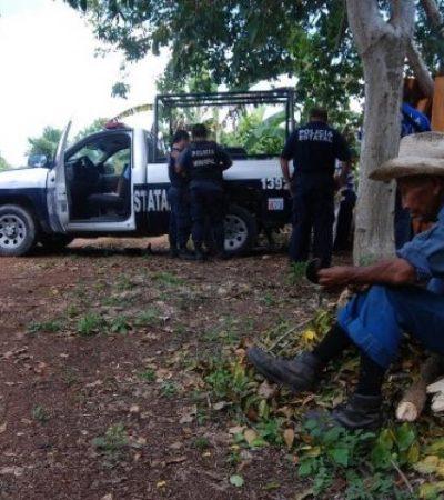 ASESINATO EN DÍAZ ORDAZ: Matan a septuagenario productor agrícola en el sur de QR