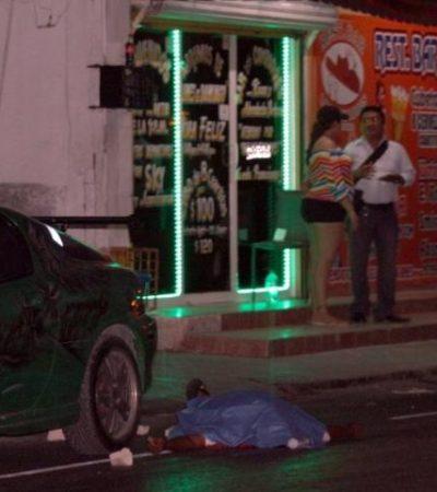 Sospechan ajuste de cuentas del narco en la ejecución a balazos de un pescador en Cancún