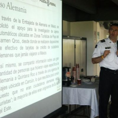 Revelan operación de bandas internacionales de clonadores de tarjetas desde la zona turística de Playa del Carmen
