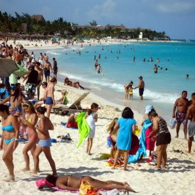 ¿CIFRAS ALEGRES EN TURISMO?: Asegura Gobernador que ya llegaron a QR más de un millón de turistas a una semana del arranque de vacaciones