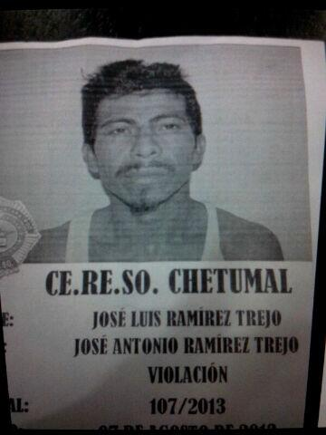 FUGA EN EL CERESO DE CHETUMAL: Buscan a violador que escapó de la cárcel por tercera ocasión