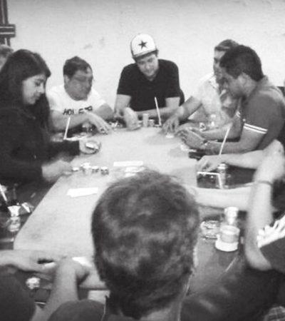 Pagan fianza y salen libres 17 de los 19 detenidos en casino clandestino en Campeche