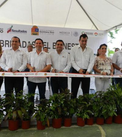 PLACEAN A 'CHANITO' CON RECURSOS OFICIALES: Arropan al 'delfín'del Gobernador en actos con tufo electoral en Cancún y Lázaro Cárdenas