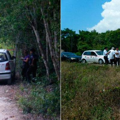 EJECUTAN A TAXISTA EN TULUM: Con un balazo en la cabeza, hallan muerto a operador en una brecha de la carretera a Cobá