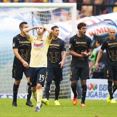 RUGEN PUMAS EN EL AZTECA: Con un gol casi al final, le quitan el invicto al América en su propio nido