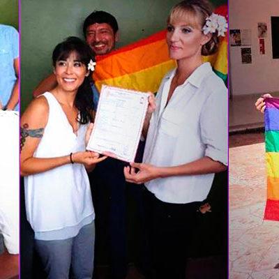 """""""YA PODEMOS EMPEZAR NUESTRO AMOR"""": Concretan Airalí y Molly primera boda gay en Tulum, la tercera en QR"""