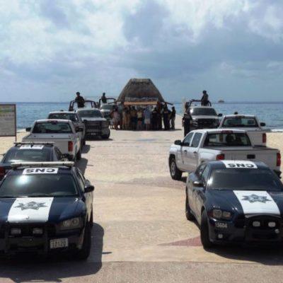 Aseguran y suspenden actividades del muelle de Ultramar en Playa del Carmen