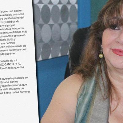 """""""LA GENTE VIVE CON MIEDO"""": Denuncia Deisy Baeza acoso y ataques y responsabiliza a Félix Gonzalez y a Roberto Borge"""