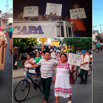 EFERVESCENCIA SOCIAL EN FCP: Realizan segunda marcha contra aumentos de CAPA y para exigir libertad de líderes detenidos