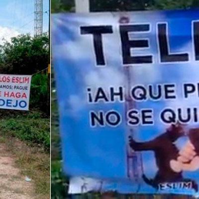 """""""YA LE GANAMOS, PAGUÉ"""": Toman ejidatarios torre de Telmex en el sur de QR en reclamo de adeudo por 53 mdp"""