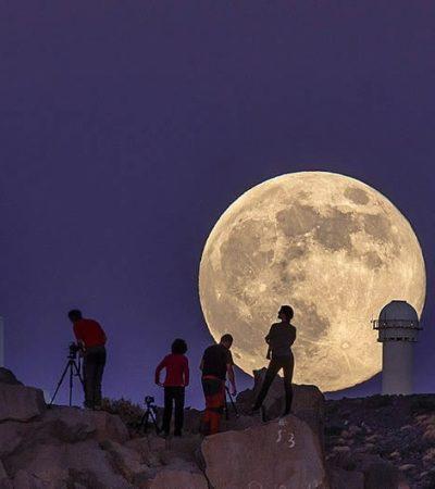 SUPERLUNA DE AGOSTO: Maravilla la segunda de las tres superlunas que se verán en 2014