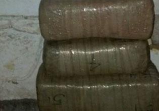 Aseguran armas y drogas en un predio abandonado en Cozumel