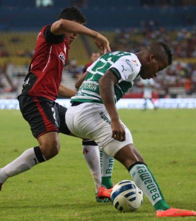 Empata Atlas 1-1 con Santos y se mantiene en tercer lugar del torneo
