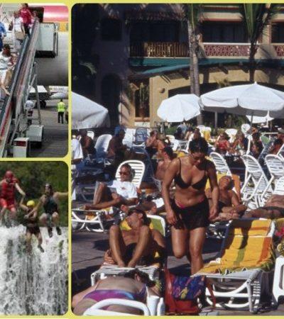 ROMPE MÉXICO RÉCORD DE TURISTAS: El primer semestre del 2014, el mejor de la historia, con más de 14.2 millones de visitantes