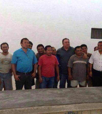 DINERO PARA LAVAR CULPAS: Entrega Gobierno $2 mil a familiares de comuneros detenidos en Holbox; que cese simulación, piden