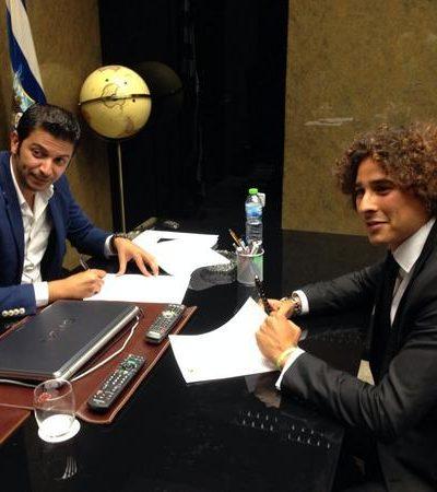 Guillermo Ochoa ya es el nuevo portero del Malaga para las próximas 3 temporadas