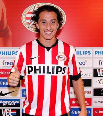 Presentan a Andrés Guardado como nuevo jugador del holandés PSV Eindhoven