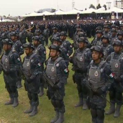 NACE LA GENDARMERÍA: Presentan a los primeros 5 mil integrantes de una nueva policía federal