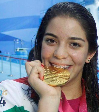 SALTO DORADO EN CHINA: Da clavadista Alejandra Orozco primera medalla de oro a México en olimpiadas juveniles de Nanjing