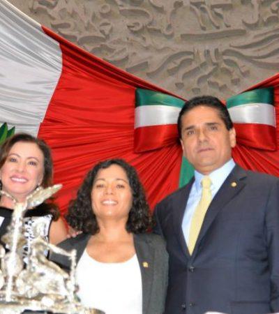 CAMBIO DE MANO EN EL CONGRESO: Asume Aureoles presidencia de la Cámara de Diputados; Graciela Saldaña, secretaria