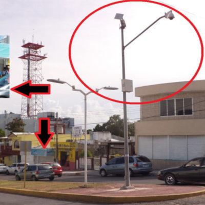 """De """"adorno"""", las cámaras de Seguridad Pública en Chetumal – Por Anwar Moguel"""