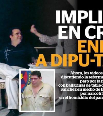 OTRA RAYA MÁS AL TIGRE: Ventila Reporte Indigo que implicado en crimen estuvo en fiesta de 'dipu-tables' panistas