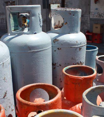 EL GAS MÁS CARO, AQUÍ: Aunque en algunos estados bajó ligeramente el costo del gas LP, en QR aumentó y se pagará el precio más alto de México