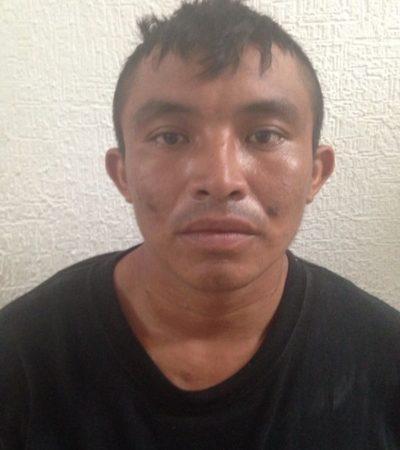Con armas y droga, capturan en Cancún a peligroso trío de 'Los Pelones'