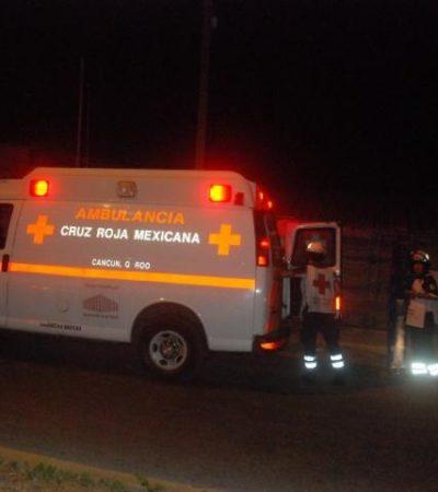 AJUSTE DE CUENTAS: Joven baleado en la Región 102 de Cancún resultó vendedor de drogas