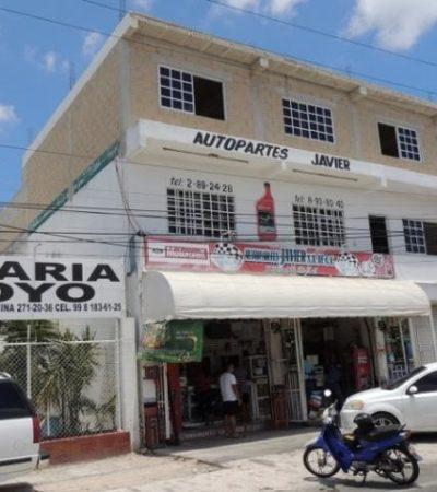 CRECIENTE INSEGURIDAD EN CANCÚN: Reportan dos asaltos a mano armada a refaccionaria y expendio de cerveza